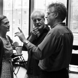 Julika Jenkins, Stephen Brennan & Patrick Mason. photo Pat Redmond