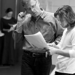 Patrick Mason & Tadhg Murphy. Mrs Warrens Profession. photo Pat Redmond